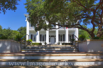 governor's mansion, texas state capitol, austin, downtown