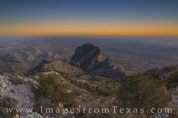 guadalupe peak, el capitan, sunset, spring, hiking, texas hikes, national park, guadalupe mountains national park, chihuahuan desert, hiking