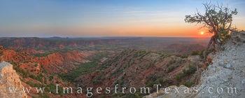 caprock canyons, state park, haynes ridge, overlook, sunrise, caprock canyon prints, west texas, remote, morning, solitude