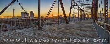 Hays Street Bridge Panorama - San Antonio 1