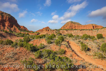 Hiking in Caprock Canyons 108-1