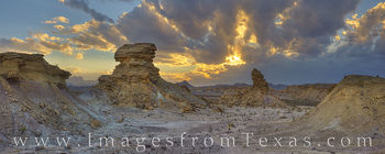 big bend, hoodoos, tornillo flats, sunset, chisos, chihuahuan desert, landscapes, national parks, texas parks, hiking texas
