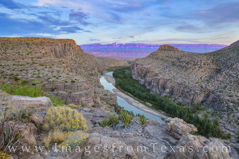Hot Springs Canyon Evening, Big Bend 309-2