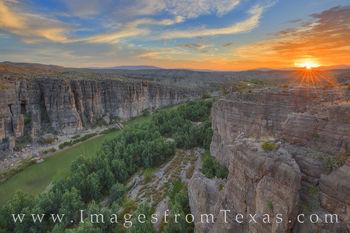 Hot Springs Canyon Sunset, Big Bend 309-1