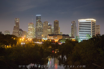 houston skyline prints,houston skyline pictures,buffalo bayou houston,houston texas prints