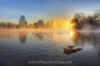 January Sunrise in Austin Texas 6