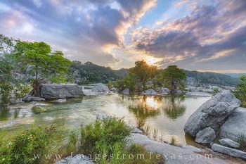 June Sunrise at Pedernales Falls 1