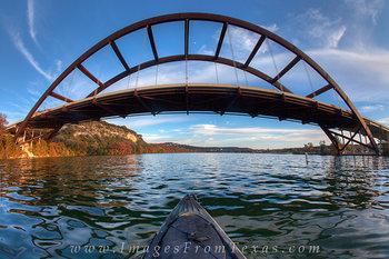 Kayaking under the 360 Bridge 1