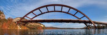 Kayaking under the 360 Bridge Panorama
