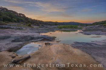 Late August Sunrise on the Pedernales 825-4
