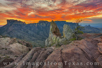 Lost Mine December Sunset 1025-1