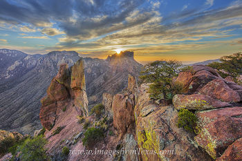 big bend national park,lost mine trail,chisos mountains,lost mine peak,juniper canyon,texas sunset,texas landscape,big bend,big bend prints