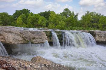 mckinney falls, lower falls, waterfall, state park