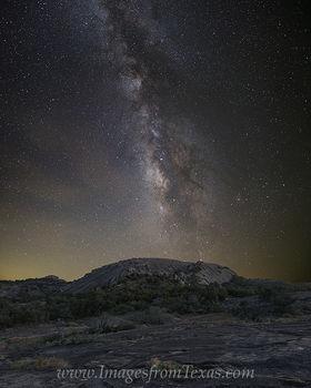 Milky Way over Enchanted Rock 915 5