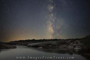 Milky Way over Pedernales Falls 3
