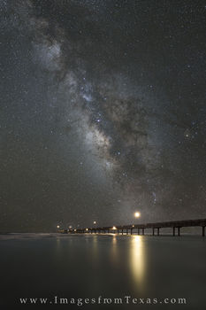 port aransas, milky way, port aransas prints, port aransas beach, port aransas night sky, texas night sky