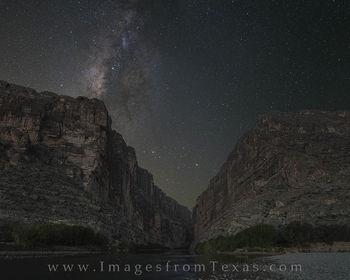 milky way photos, santa elena canyon, big bend national park, texas skies, dark skies in texas, milky way