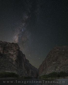 milky way, big bend national park, texas dark skies, big bend photos, santa elena canyon