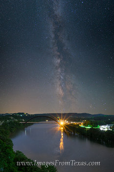 Milky Way over the 360 Bridge 1