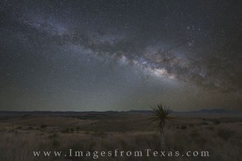 Milky Way over the Davis Mountains 1