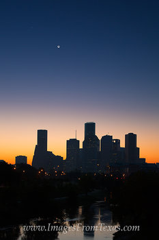 houston skyline images,houston skyline,downtown houston,houston texas,houston prints,prints,images,photos,houston tx,houston texas moonrise,H-Town