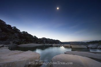 Moonrise over the Texas Hill Country 2