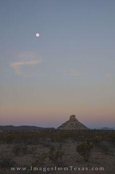 big bend national park, moon, moonset, chisos mountains, chihuahuan desert, texas morning, big bend images, big bend prints