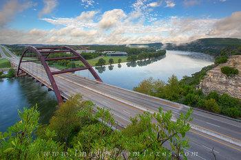 Morning Clouds over Pennybacker Bridge