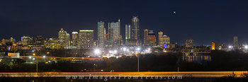 Panorama of Austin from  Zilker 2