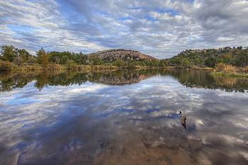 November Skies over Enchanted Rock 2