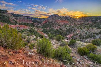 November Sunset in Palo Duro Canyon 1124-1