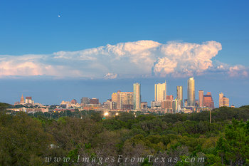 austin skyline from hike and bike,austin from zilker clubhouse,austin skyline afternoon,austin texas images,austin photos,austonian,360 condos