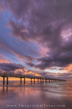 Mustang Island and Port Aransas at Sunrise 23