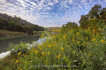October Sunrise on the Pedernales River 1