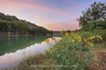October Sunrise on the Pedernales River 2