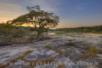 pedernales falls, texas hill country, cypress, pools, morning, sunrise, quiet, solitude, red, summer