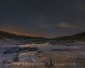 orion, stars, pedernales river, pedernales falls, texas hill country, night, morning, glow, sun, constellations, peace