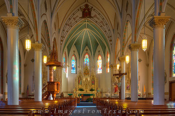 texas hill country,painted churches,fredericksburg painted church,painted church images