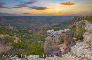 palo duro canyon, palo duro prints, arch, sunset, east rim, hiking, off trail, exploring, texas landscapes, state park