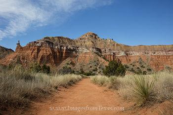 Palo Duro Canyon - Capitol Peak 1
