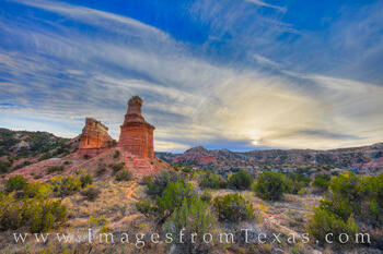 Palo Duro Canyon,The lighthouse,palo duro image,palo duro prints,texas landscapes,sun dog,sun dog rainbow,texas state parks,texas canyons