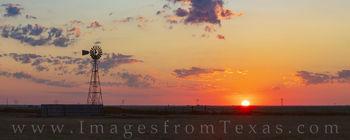 Palo Duro Summer Sunrise Panorama 724-1