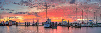 Panorama from Rockport Tx - Harbor 1