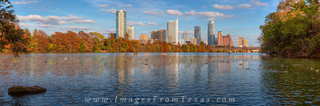 Panorama of Austin Autumn  from Lou Neff