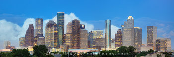 houston skyline,houston pano,houston texas panorama