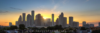 houston panoramas,houston texas,houston sunrise