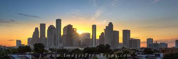 houston panoramas,houston texas,houston sunrise