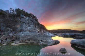Pedenrales Falls - February Sunrise 6