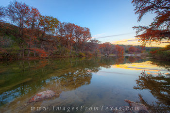 Pedernales Falls - Autumn River 4