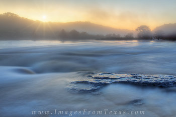 Pedernales falls state park,texas hill country,sunrise,fog,texas state parks texas hill country photos